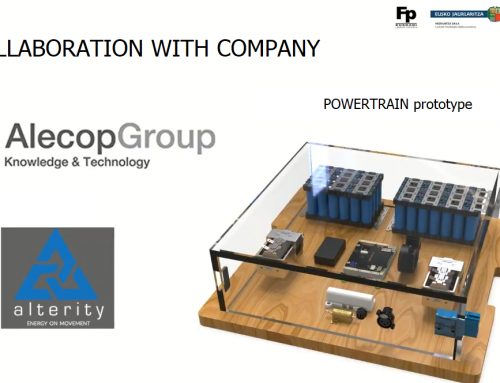Alecop participated in the POWERTRAIN project – Electric vehicle
